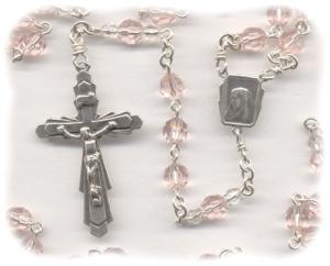 Rosaline Crystal Rosary