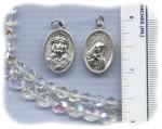 Ecce Homo/Mater Delorosa Medal (Italian Silver Plate)