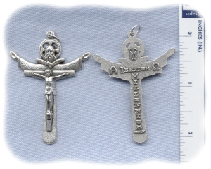 New Holy Trinity Crucifix - 2""