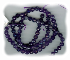 Faceted Amethyst 8mm Beads