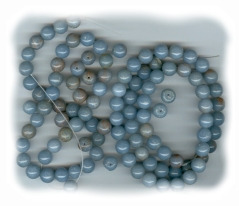 Angelite (angel stone) Beads 8mm