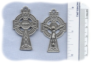 1 3/4 inch Celtic Crucifix
