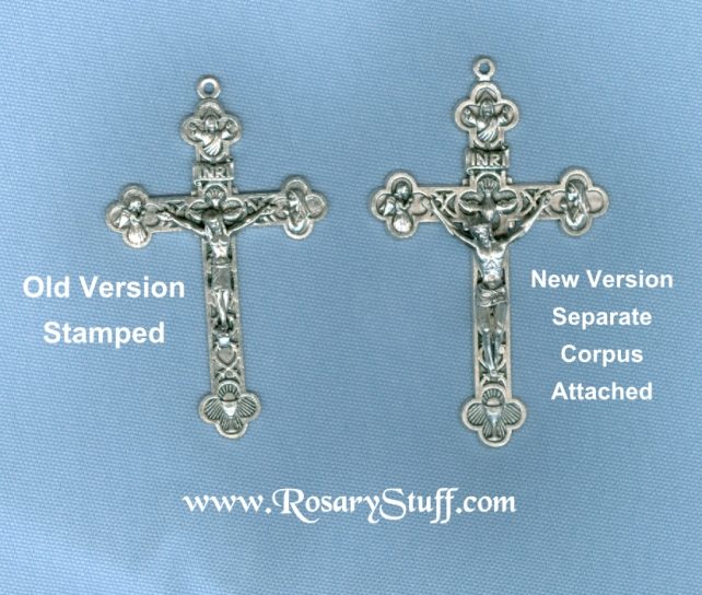 Old vs New Eucharistic/Trinity Crucifix