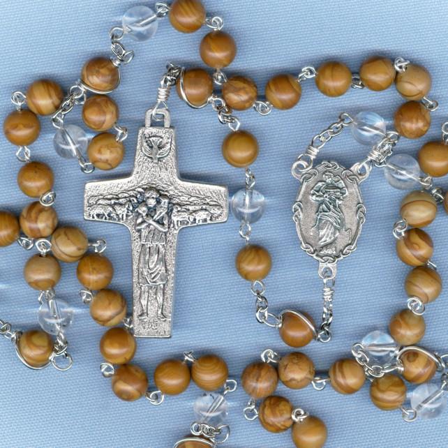 Special Intention Rosary Tiger Jasper_thumbnail