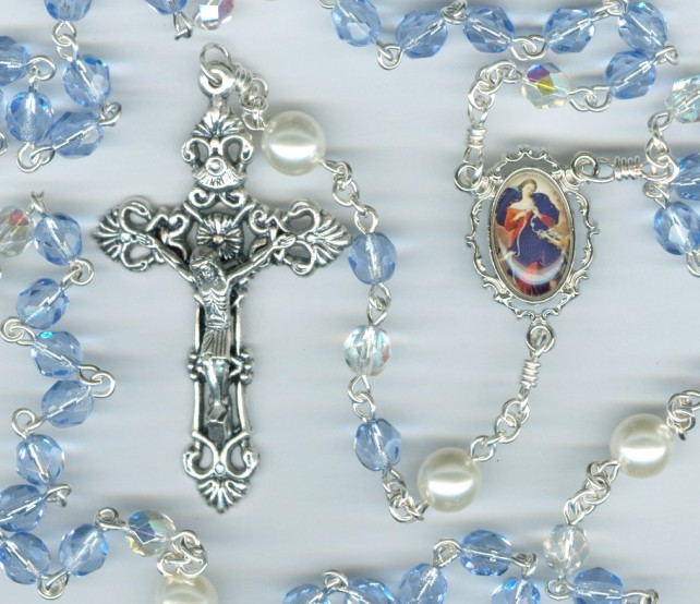 Special Intention Rosary Light Sapphire Blue_thumbnail