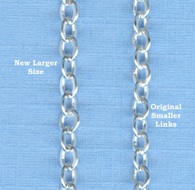 New chain Sizes 2020